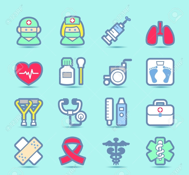 Medical Emergency and Healthcare Icons