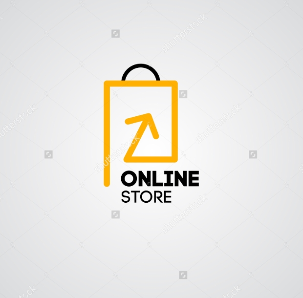 20 retail logos free editable psd ai vector eps for Design online shop