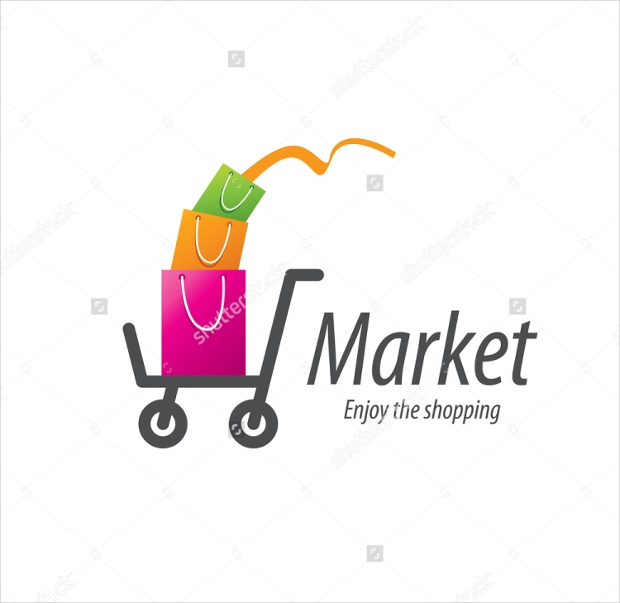 Vector Shopping Logo