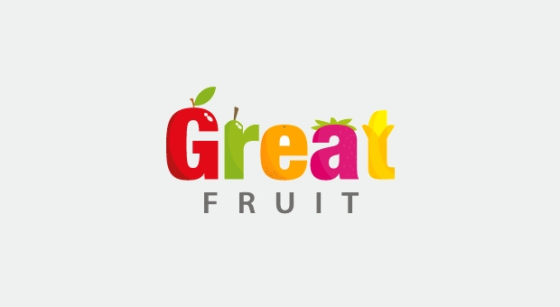 Fruit Retail Company Logo