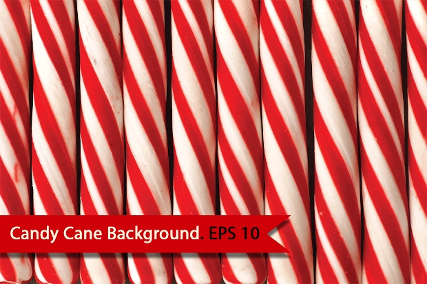 christmas candy cane texture