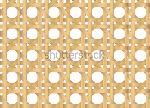 vector seamless cane texture