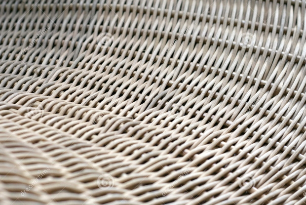 hand craft cane weave texture