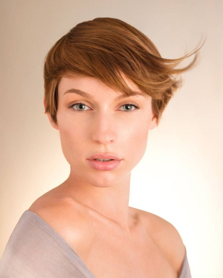short pixie haircut design