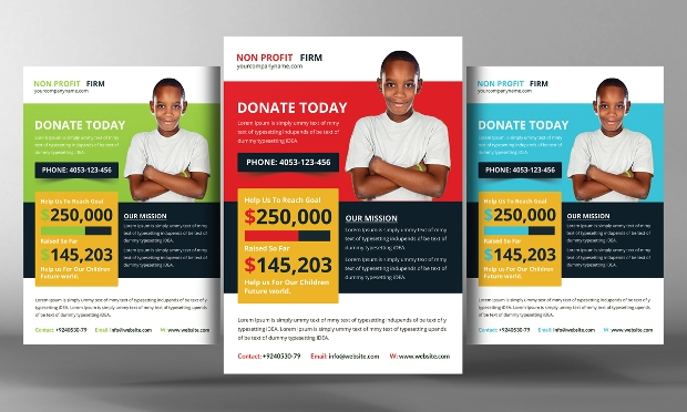 Fundraising Flyer Templates  Printable Psd Ai Vector Eps