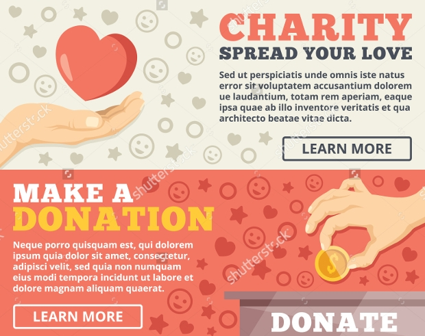 Charity Donation Flat Flyer