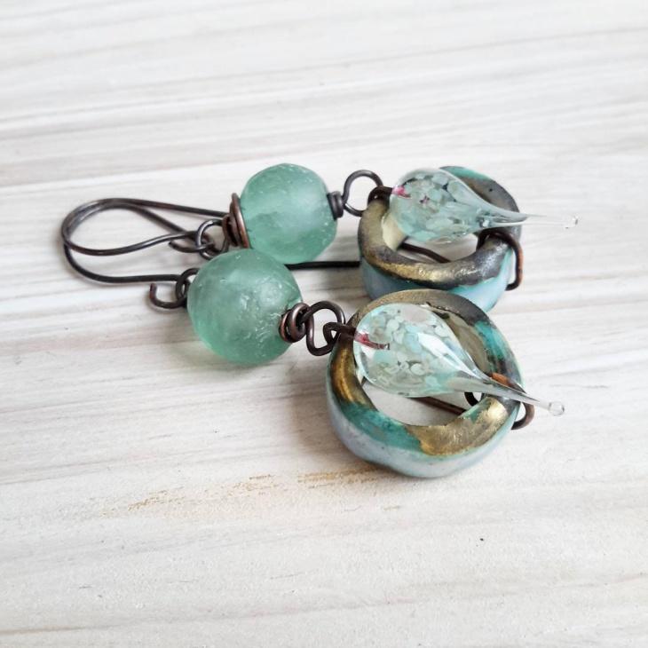 fabulous ceramic earrings