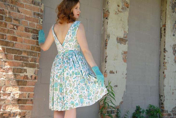 Vintage Style Poppy Dress