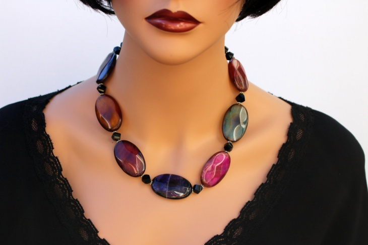 Agate Statement Necklace