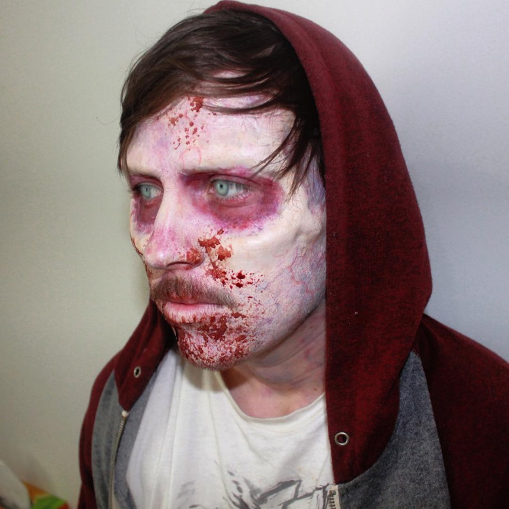 horror prosthetic makeup