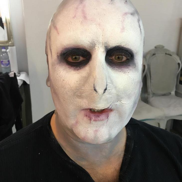voldemort prosthetic makeup