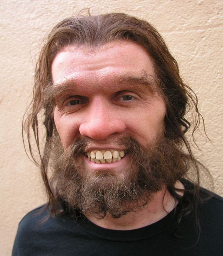 caveman makeup design idea