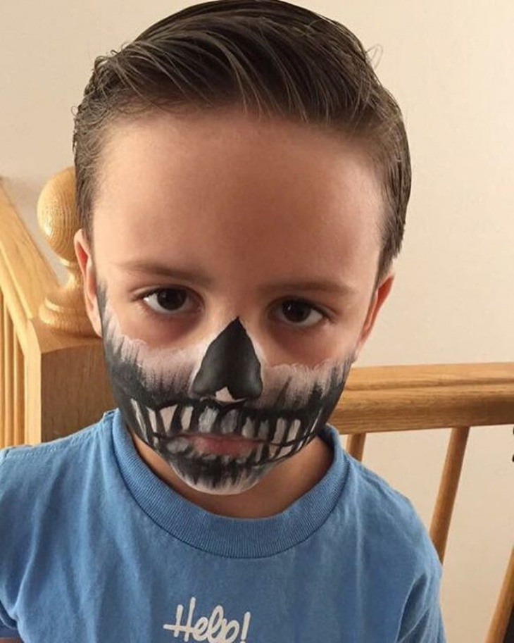 Skeleton Makeup For Kids