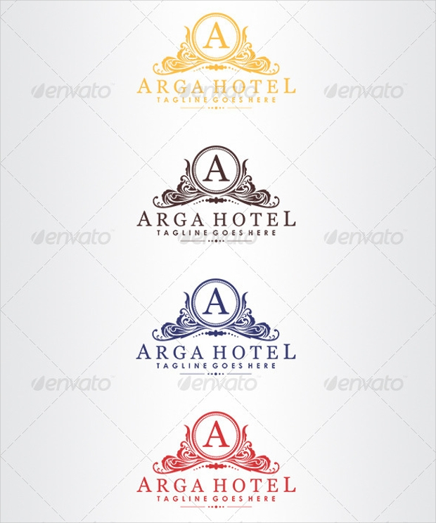 19 resort logos free editable psd ai vector eps for Hotel logo design