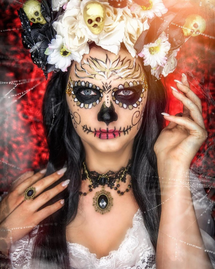 20+ Skeleton Makeup Designs, Trends, Ideas