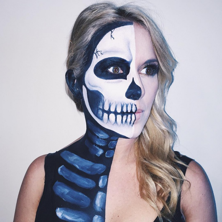 Skeleton Costume Makeup