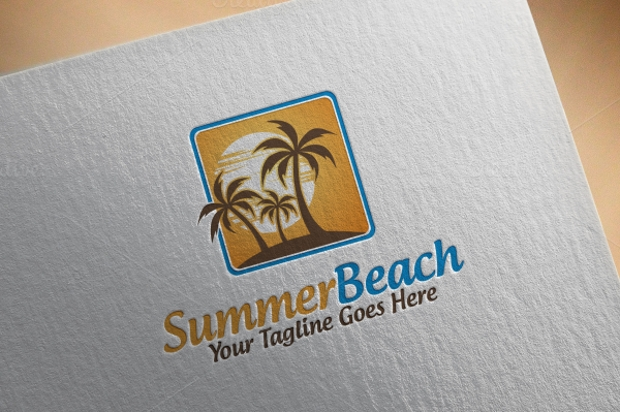 Summer Resort Logo