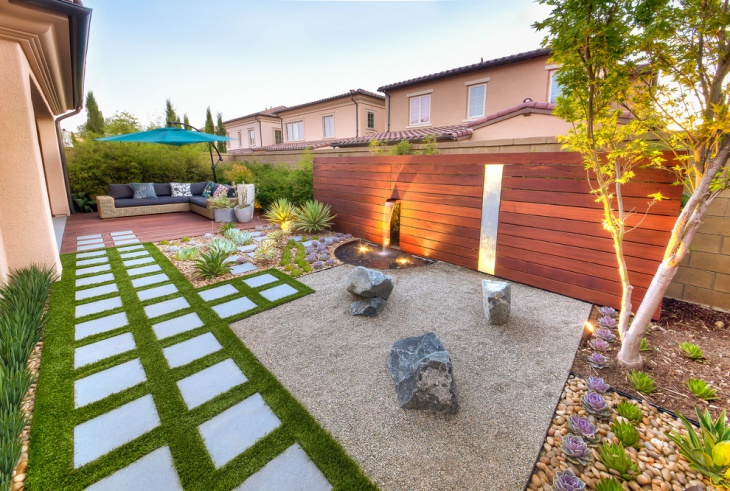 Contemporary Zen Garden Design