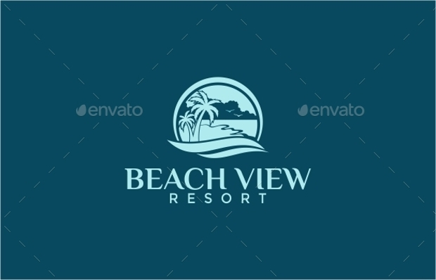 Beach View Resort Logo