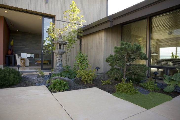 zen garden landscaping idea