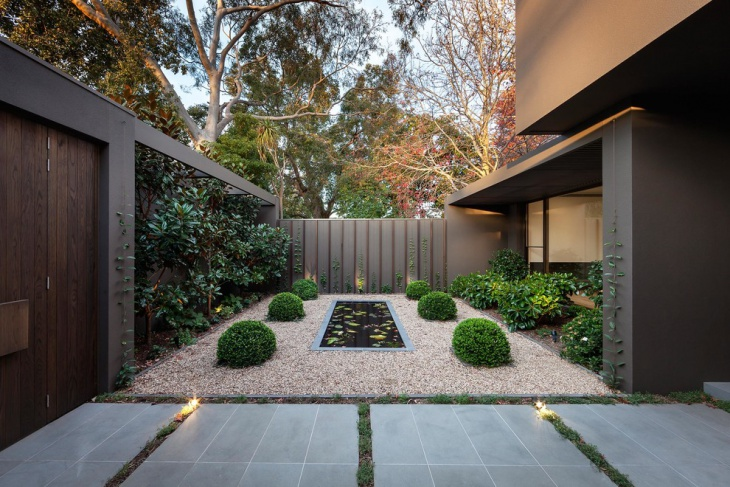 outdoor zen garden design