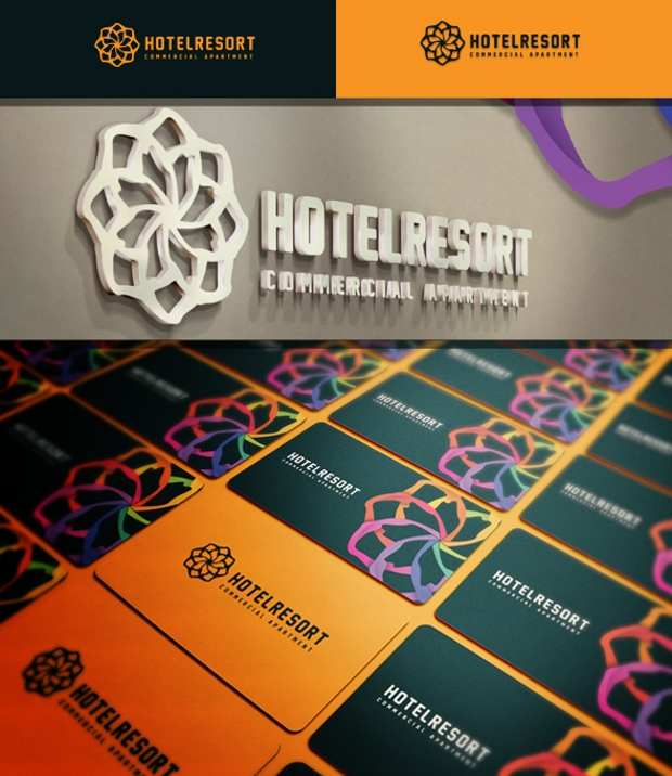 Hotel Resort Logo Design