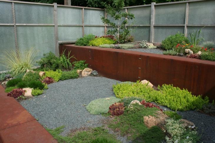 industrial zen garden design