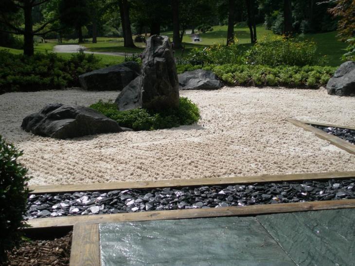 sand zen garden idea