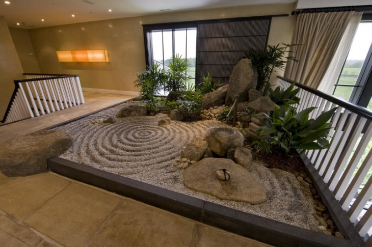 18 beautiful zen garden designs ideas design trends for Interior garden design