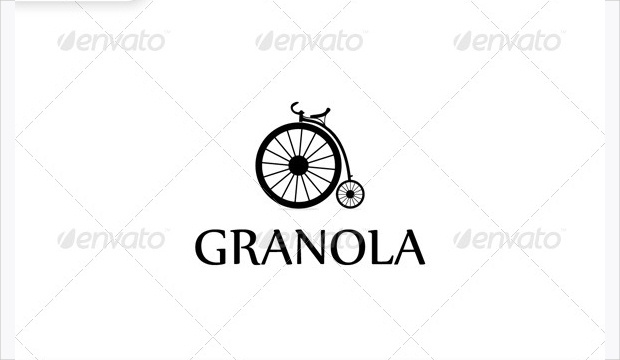 Old Bicycle Logo