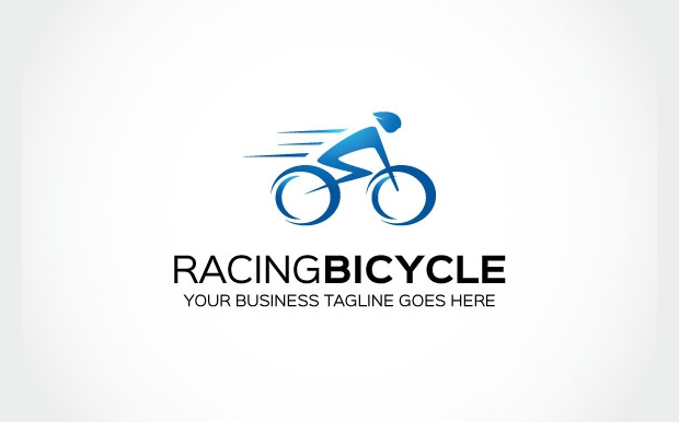 Racing bicycle logo Design