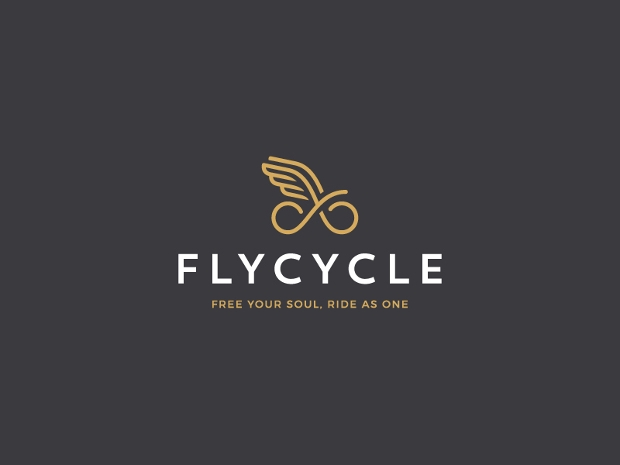 Fly Cycle Logo Design