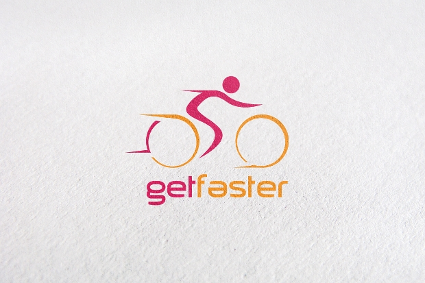 Get Faster Bicycle Logo