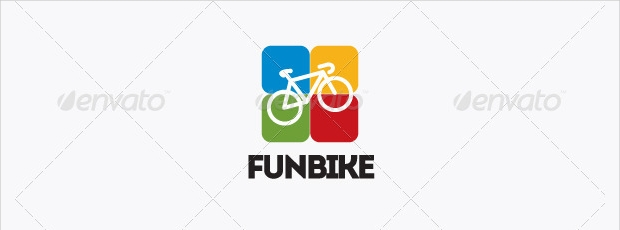 Cycling Logo Template