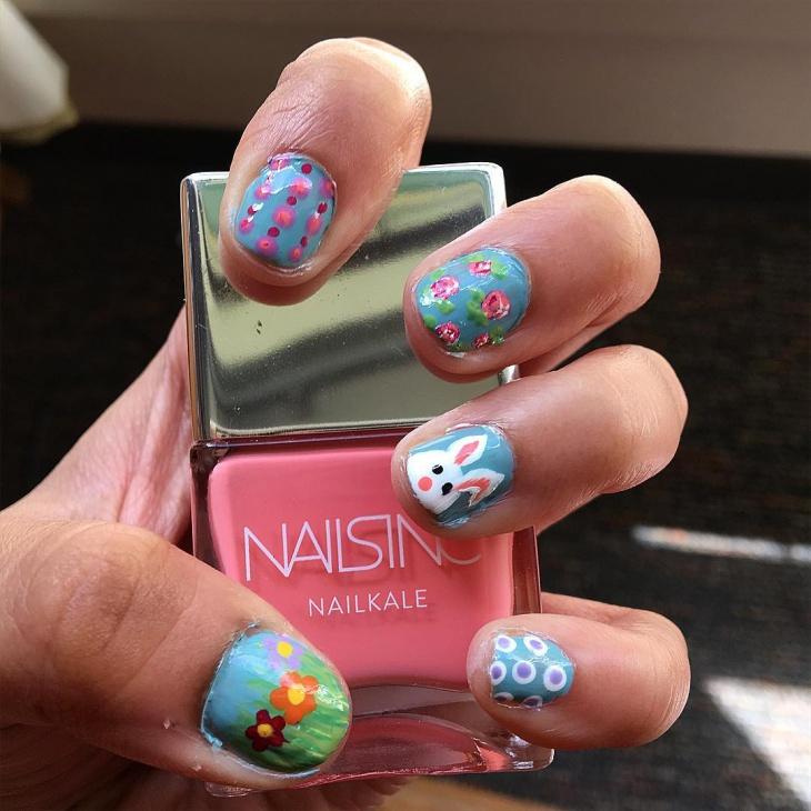 short bunny nails