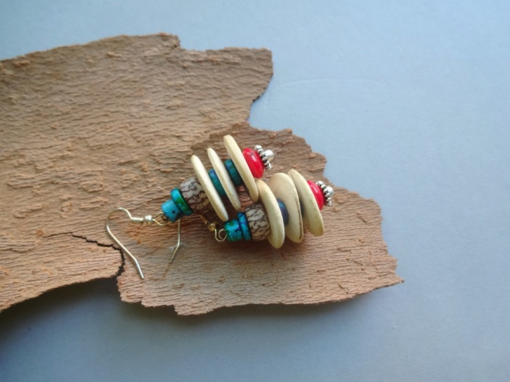 Tribal Wooden Jewelry