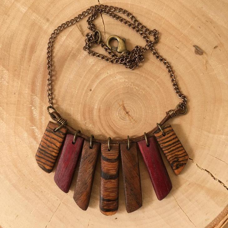 olive wood jewelry
