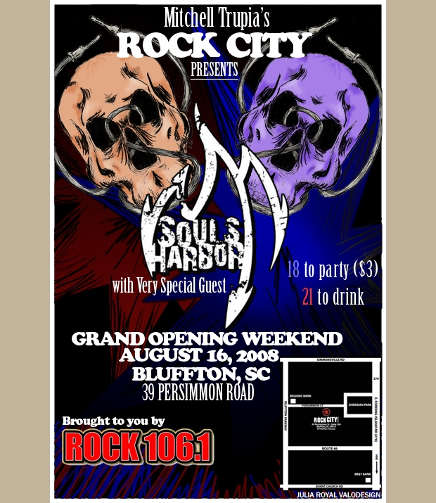 Rock City Grand Opening Flyer