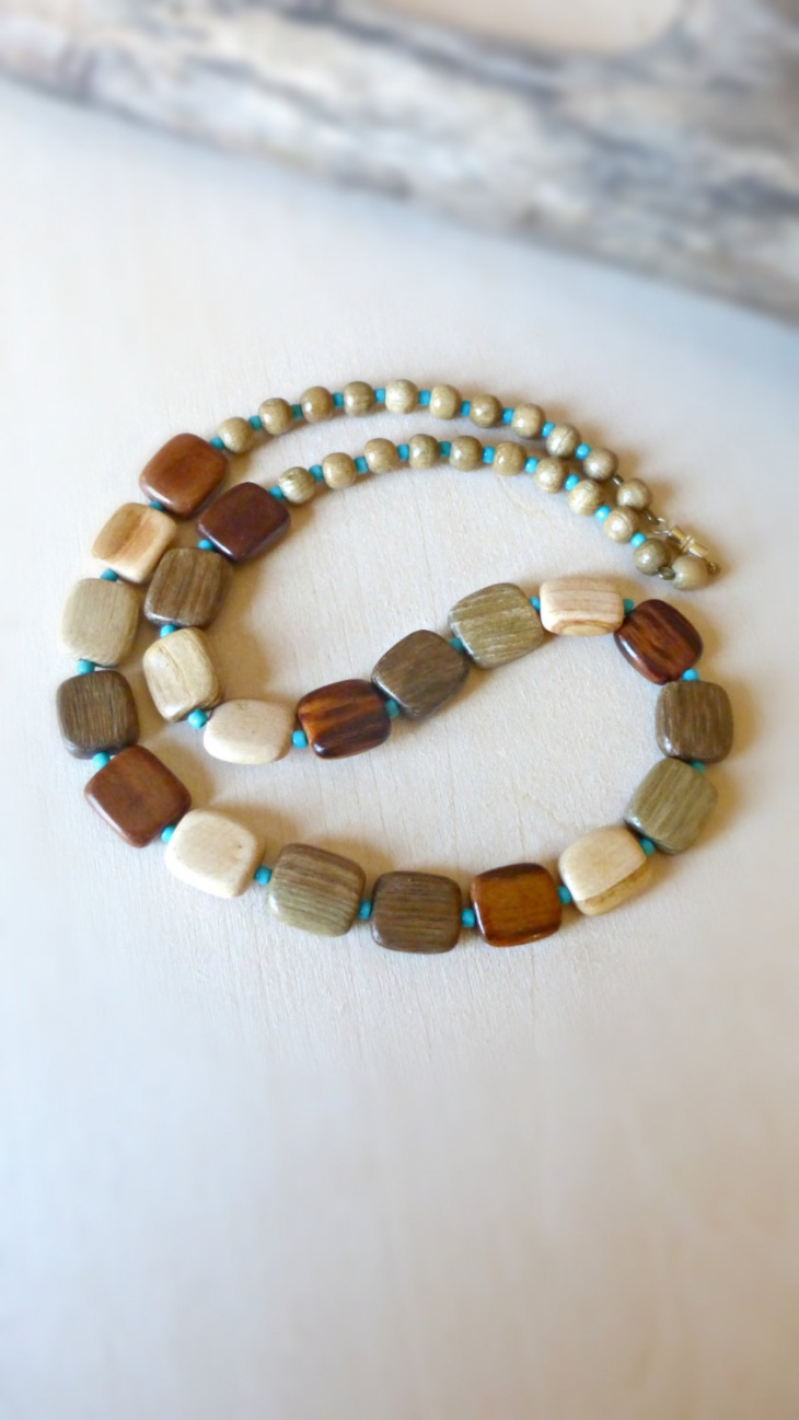 Natural Wood jewelry