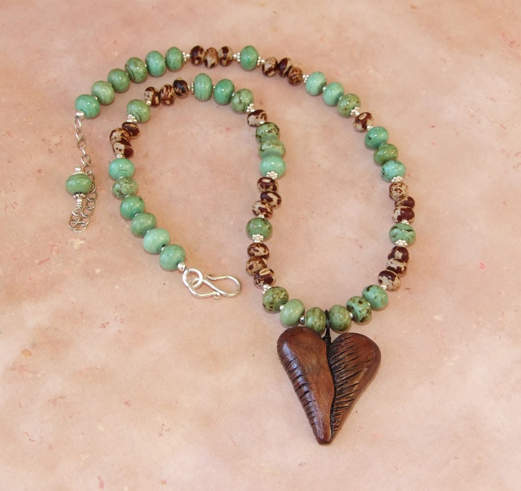 Beaded Love Wooden Jewelry