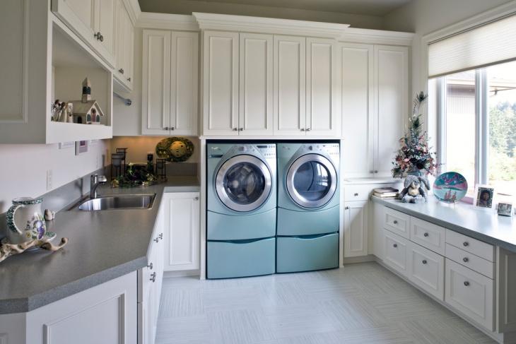 unique utility room design