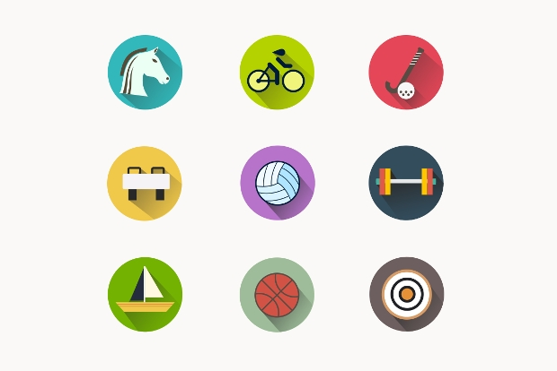 summer games icons