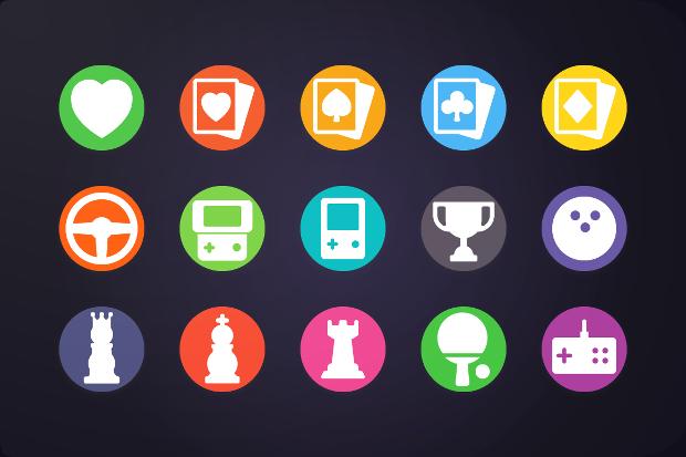 circular game icon