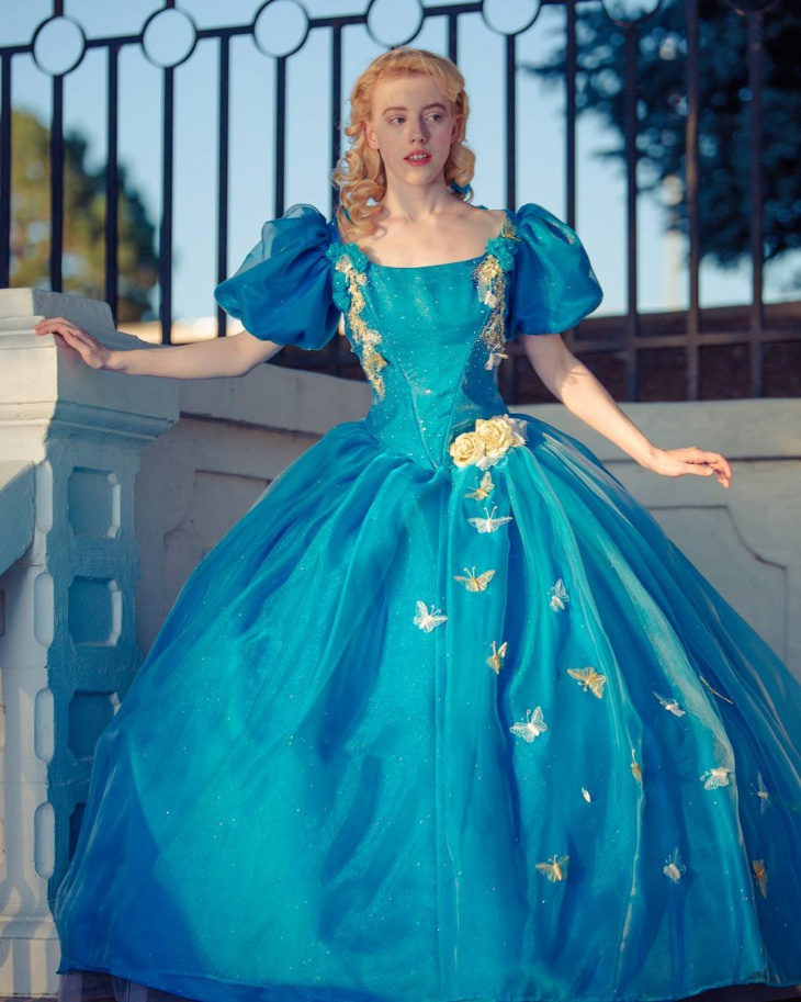 fairytale ball gown design