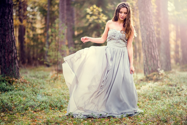 fairytale evening gown