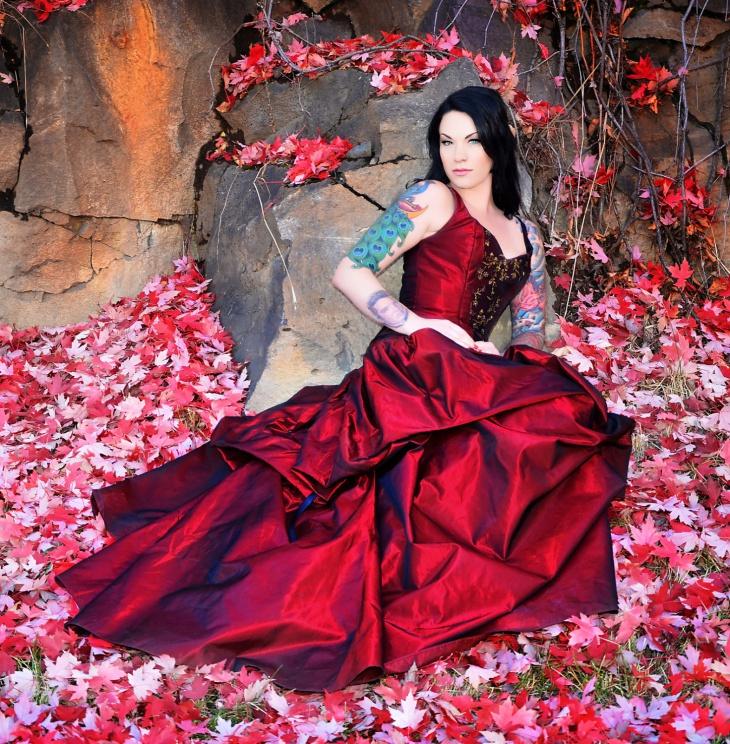 fantasy fairytale gown