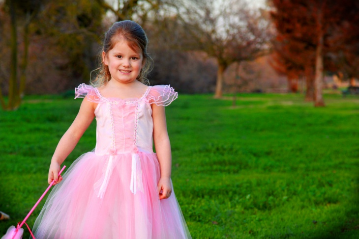 fairytale gown for kids