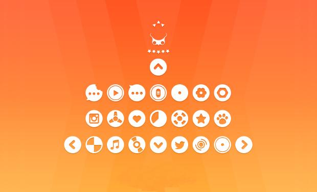 circular icons set