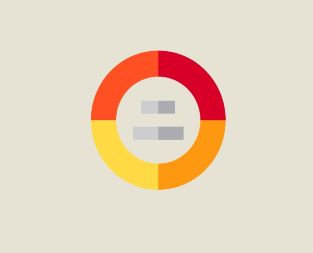circular chart free icon