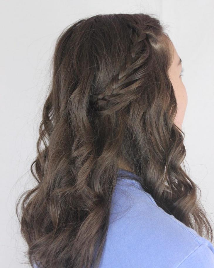 messy loop braid